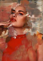 no name (Rosanna Jones) Tags: art beauty fashion painting skin fashionphotography mixedmedia photopainting rosannajones rosannajonesphotography