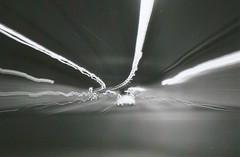 Tunnelblick (Turikan) Tags: auto stand tunnel contax dev tvs rodinal ilford fp4 blury lichter verschwommen