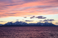 DSC_3277.jpg (-eudoxus-) Tags: winter sunset sea sky snow norway landscape nikon shoreline norwegen arctic shore hurtigruten mointain 2016 2015 d7000
