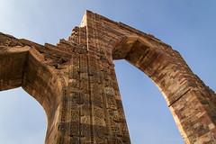 Ruined, but standing tall (Madhurjya P Baruah) Tags: india delhi qutub minar mughal