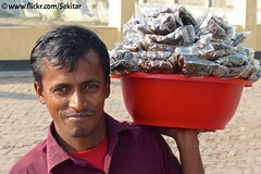 Snack Seller, Dhaka Road, Bangladesh (Sekitar) Tags: man smile work snack sweets job bangladesh seller bangla desh southasia srimongol bangladesch