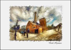 PUMPHOUSE LIVERPOOL (Derek Hyamson) Tags: liverpool drawing hdr albertdock
