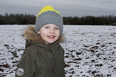 Elliott Coundon Wedge Sunday 17/01/2016 (Paul-Green) Tags: winter portrait baby snow cold west field canon walking outside photography countryside photo child shot jan snowy mark walk january picture ii 7d fields mk2 coventry elliott wedge midlands coundon 2016