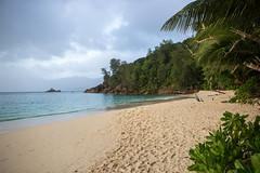 seychelles beach (felipeepu) Tags: beach strand meer sonnenuntergang seychelles seychellen