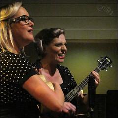 Mersey Belles (steeedm) Tags: ukulele duo kala westkirby merseybelles westkirbytap