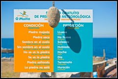 weather forecast (roberto pulzoni) Tags: camping camp españa galicia galiza campamento pontevedra oia bayona