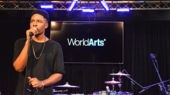 Drew Scott Live on the WorldArts Stage (worldarts00) Tags: music scott live stage drew singer worldarts druski