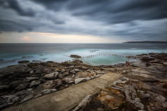 Swimex (Crouchy69) Tags: ocean sea sky seascape beach water pool clouds sunrise landscape dawn coast rocks long exposure sydney australia maroubra mahon