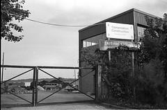Portishead  Goods & Coal Depot, 1980 (Blue-pelican-railway) Tags: station bristol closed portishead railway somerset goodsdepot coaldepot