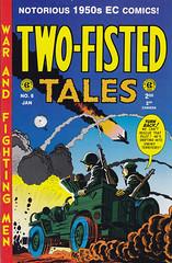 Two-Fisted Tales #6 (micky the pixel) Tags: comics comic heft ec krieg war twofistedtales harveykurtzman russcochran