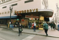 J.J. Newberrys Going Out Of Business Sale December 1995 (Phillip Pessar) Tags: retail out store jj sale five going business dime 1995 variety newberrys of