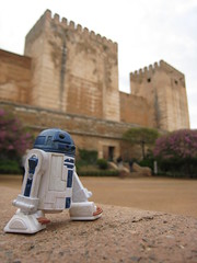 Walking Tour (jpberba) Tags: travel spain action actionfigures r2d2 alhambra figures granda artoo toyphotography afaa