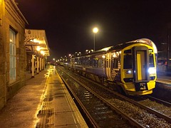 Linlithgow - 11-12-2016 (agcthoms) Tags: station scotland trains scotrail railways linlithgow westlothian class158 158789