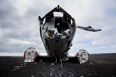 Grounded (Jake's Gallery) Tags: abandoned plane airplane crash decay navy jet destroyed decompose disintegrate