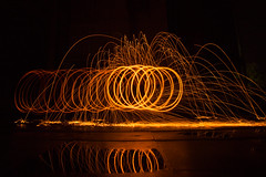 Lightpainting (N.Naumburger) Tags: strand canon eos wasser nacht feuer freunde niels dunkel stahl 6d uelzen langzeitbelichtung weitwinkel osee stahlwolle uelze fotofactory stahlwoll