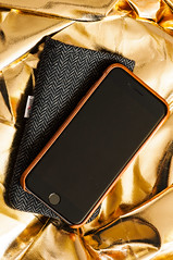 Goldfinger (Grant is a Grant) Tags: macro micro productphotography nikkor105mm nikond90 vsco iphonesleeve 105mm28g jositajosi vscofilm iphone6s