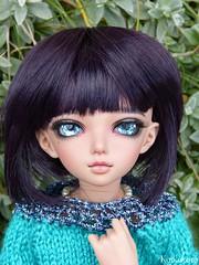 Jicky porte des yeux 14mm handmade -pour Ayoshi (koikokoro) Tags: tan fairyland luka minifee