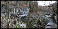 River North Esk. (foggybummer (Keith)) Tags: river gorge ribbet highwaterlevel glenesk rivernorthesk