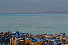 Öresund winter view (frankmh) Tags: winter sea skåne sweden coastline viken öresund kullaberg