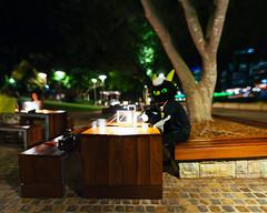 Also down to business (james the dragon) Tags: park night bokeh fursuit brenizer bokehrama
