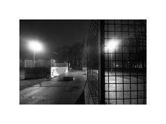 Park in the dark (Furious Zeppelin) Tags: park bw white black night dark nikon skate damp hessle d80