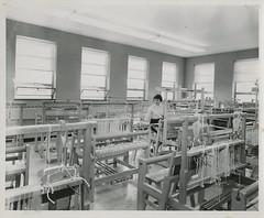 Weaving Lab. (NDSU University Archives) Tags: weaving ndsu homeeconomics looms ndac northdakotastateuniversity northdakotaagriculturalcollege