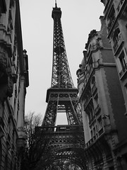 Eiffel Tower (Darren-Holes) Tags: city paris france architecture eiffeltower landmark toureiffel champdemars gustaveeiffel stephensauvestre