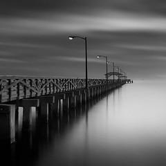 Ballast Point Pier (josesuro) Tags: longexposure bw digital landscapes tampabay florida piers fineart 2015 ballastpoint leebigstopper afsnikkor50mmf18g jaspcphotography nikond750