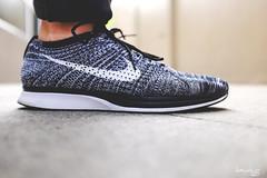 Flyknit Racer Oreos (Daniel Y. Go) Tags: shoes fuji philippines sneakers nike oreos flyknitracer x100t fujix100t