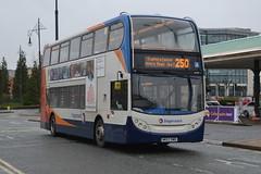 Stagecoach AD Enviro 400 19199 NK57DWD - Trafford Centre, Manchester (dwb transport photos) Tags: bus manchester alexander dennis stagecoach enviro decker 19199 thetraffordcentre nk57dwd