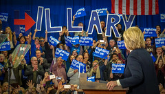 2016.02.09  Presidential Campaign New Hampshire USA 02806 (tedeytan) Tags: published hillaryclinton presidentialelection nashua concessionspeech hooksett newhampshireprimary exif:make=sony camera:make=sony exif:aperture=63 exif:isospeed=3200 camera:model=ilce6000 exif:model=ilce6000 exif:lens=e18200mmf3563 hillaryforamerica exif:focallength=1056mm