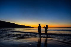 Day 295. Girls made it. We watched the sunset last night and the sunset this morning. It's strange having friends around, being able to speak in English, it's been five months since seeing a familiar face. #theworldwalk #travel #costarica