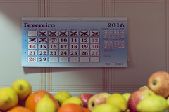Changes to come. (nicolee_camacho) Tags: kitchen colors fruits 30 photography waiting colorful day calendar 7 days come changes challenge counting
