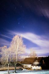 Nuit Blanche (Corentin_m_photo) Tags: sky snow montagne image ciel neige stacking nuit astrophoto etoiles