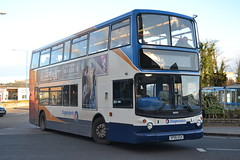 Stagecoach Fife 18509 SP06EGX (Will Swain) Tags: county uk travel bus buses station march scotland fife britain country north transport 4th scottish east vehicles vehicle seen stagecoach kirkcaldy 2016 18509 sp06egx