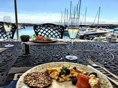 Breakfast on the Deck (RobW_) Tags: africa home breakfast wednesday bay town south cape hudson february westerncape 2016 grainger waterclub diaryphoto mdpd201602 mdpd2016 17feb2016