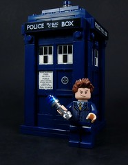 They Stop Eveywhere (MrKjito) Tags: new david screw lego time who space sonic doctor driver minifig tardis dimension ideas tennant in timelord gallifrey realtive