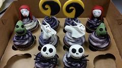 Nightmare Before Christmas Cupcakes (dragosisters) Tags: cupcakes disney nightmarebeforechristmas