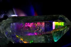 quartz crystal (donjuanmon) Tags: color macro closeup spectrum crystal theme quartz hmm macromondays donjuanmon