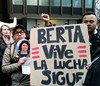 Rally for justice for the murder of Berta Cáceres (UMWomen) Tags: indigenouswomen csw60