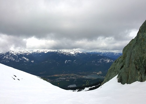 Whistler valley from Blackcomb
