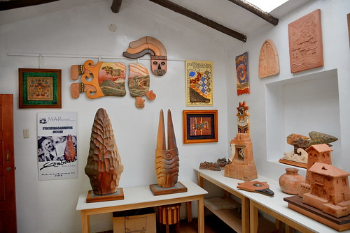 Art works at Ceramicas Seminario in Urubamba Peru-03 5-26-15