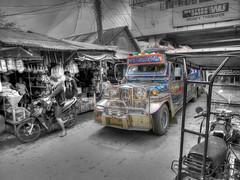 Jeepney Puerto Galera (someofmypics) Tags: vacation water underwater outdoor philippines bikini manila scubadiving wickedweasel ikelite panasonictz60