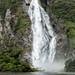 Waterfall, Milford Sound, New Zealand II