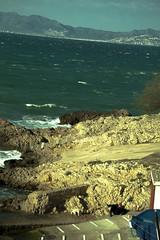 (CristobalFranco) Tags: sea dog mountain beach landscape boat mar barco playa paisaje girona perro catalunya sailor montaa gos muntanya platja mariner lescala paisatge vaixell marinero