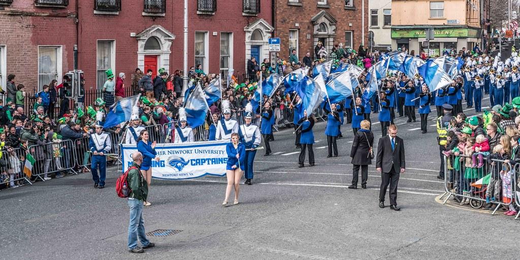 Christopher Newport University Marching Captains-112413