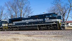 NYC at The Love Shack (tim_1522) Tags: railroad heritage ns rail local 1066 norfolksouthern emd railfanning newyorkcentral autoracks rostershot sd70ace stlouisdistrict