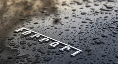 Sadness (ehanoglu) Tags: california wet colors rain turkey trkiye istanbul ferrari drop reflect rainy emre florya exoticistanbul emrehanoglu emrehanolu hanolu