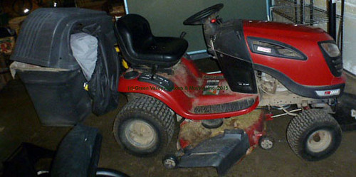 Craftsman Mower - $577.50 (Sold August 14, 2015)