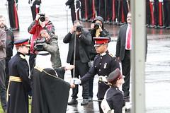 CC152 - Recieving the Sword of Honour (roger_forster) Tags: bahrain al prince parade bin khalifa sword berkshire salman sandhurst honour rma suo sovereigns cousland kidane cc152